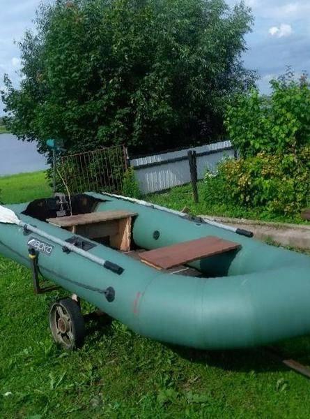 Лодка марко фьорд 290