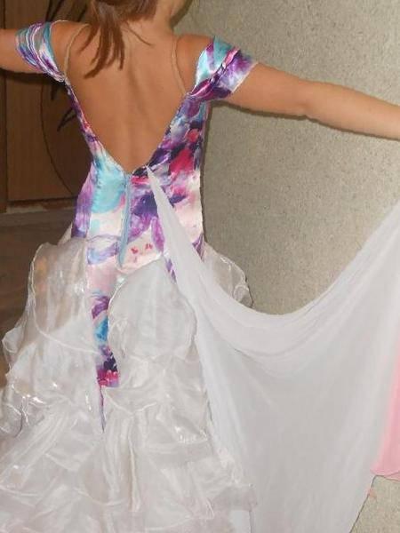 5226d249100 Платье для спортивно-бальных танцев стандарт Ю1