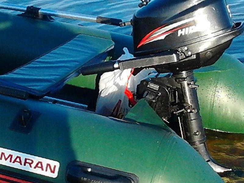 толщина транца на лодках пвх ниссамаран