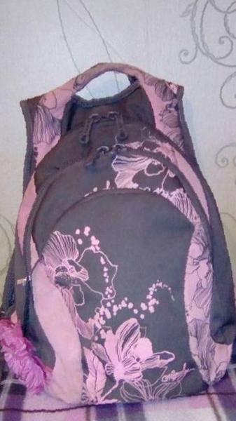 d5d62009bfe7 Рюкзак школьный фирмы Grizzly для девочки в Земетчине, цена 550 руб ...