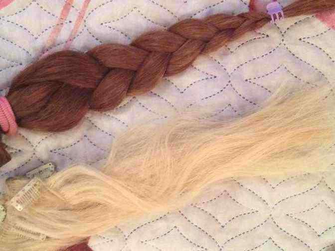 Натуральные волосы курган