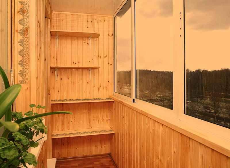 Ремонт балкона, тамбов.