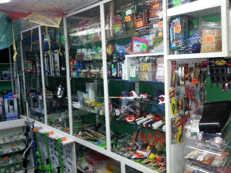 готовый бизнес рыболовный магазин