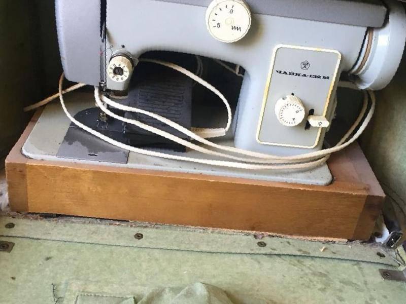 Ремонт швейной машины чайка 132м своими руками 57