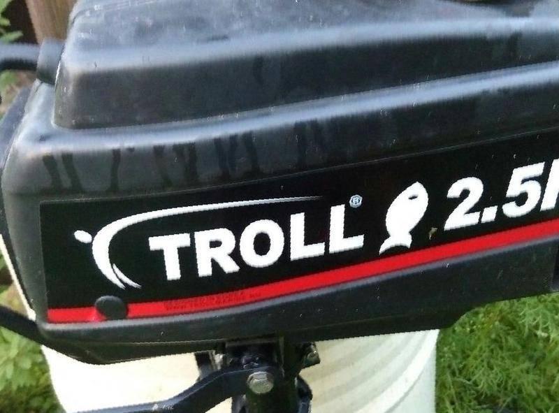 лодочный мотор troll 5hp цена