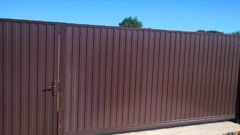 Сдвижные ворота в орске ворота цна