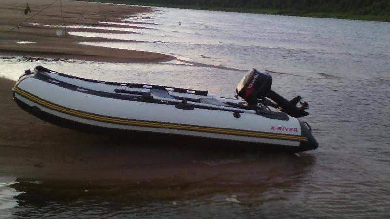 лодка пвх x-river 340 серии агент